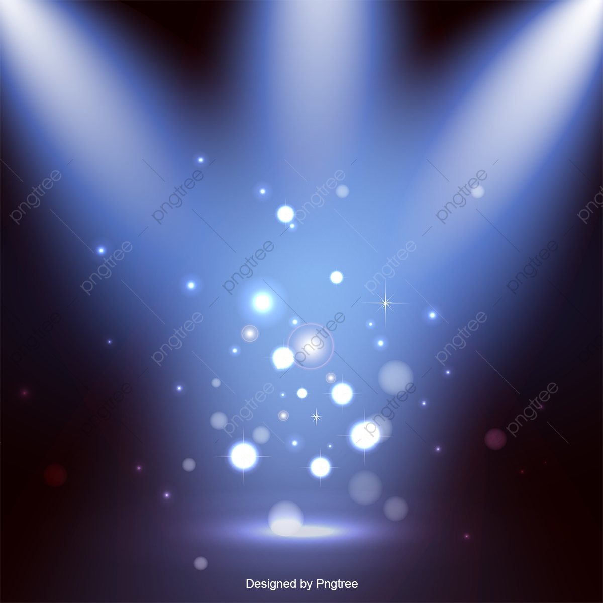 Stage Lighting Effects Vector, Stage, Lighting Effects, Light PNG.