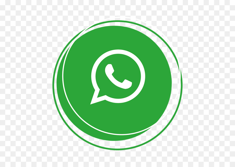Whatsapp Green png download.