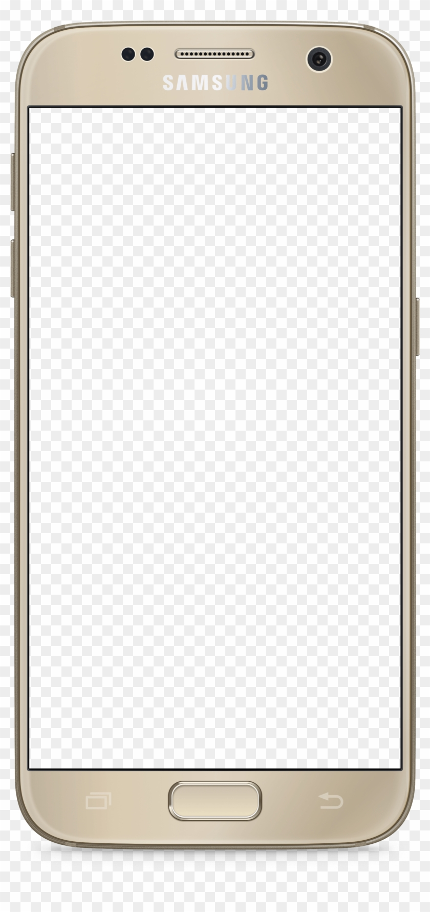 Mobile Frame Blank, HD Png Download.