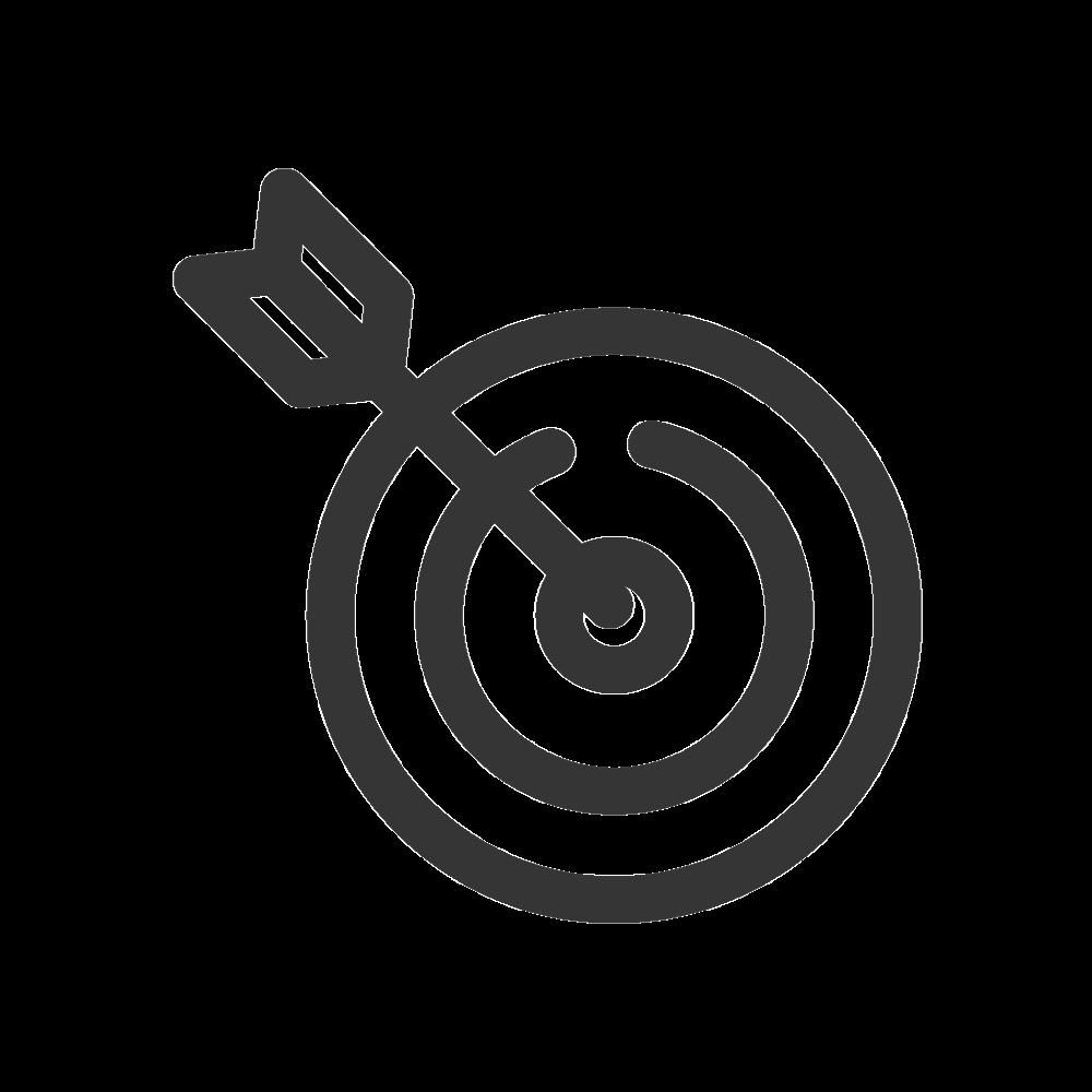 Black Target Download Free PNG.