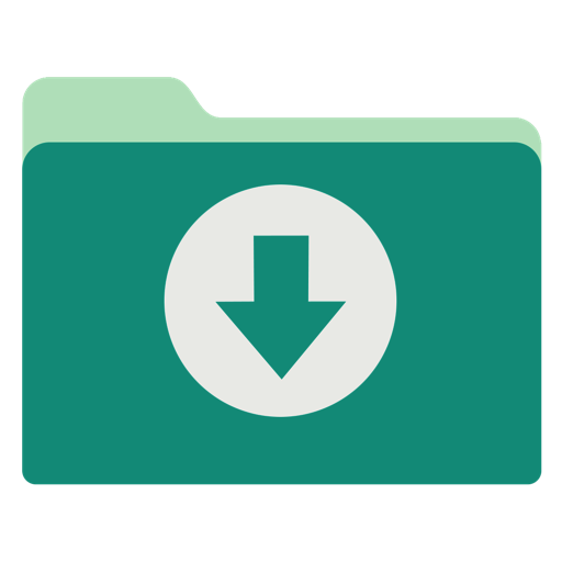 Download Button PNG Image File.