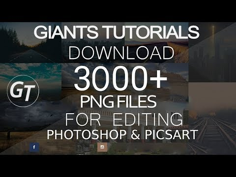 3000 png files download for picsart and photoshop.