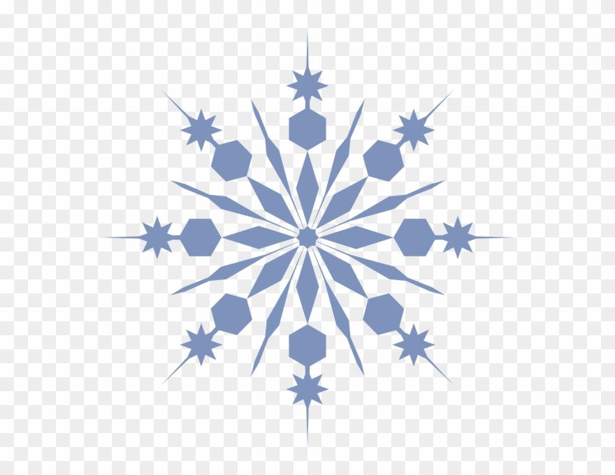 Snowflake Clip Art At Clker.