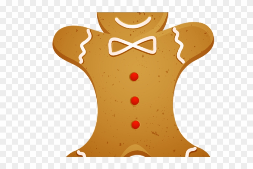 Biscuit Clipart Christmas Gingerbread Cookie.