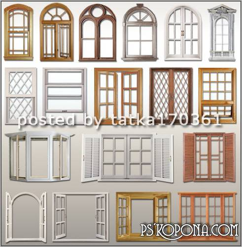 Download window clipart clipground for Wood window designs for homes