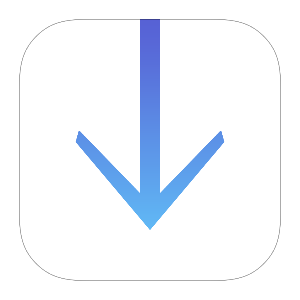 Downloads Icon PNG Image.