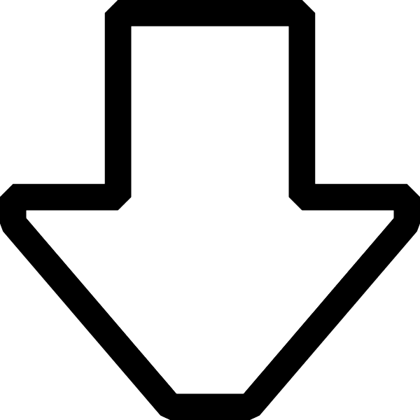 Clipart arrows pointing down.