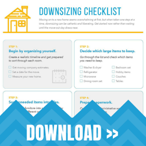 How to Downsize Your Home [Free Checklist].