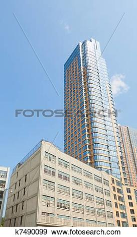 Stock Photograph of Modern building in downtown Brooklyn. k7490099.