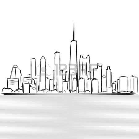 117 Downtown District Chicago Stock Vector Illustration And.