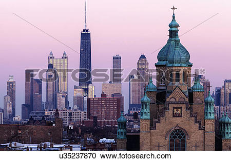 Stock Photography of Saint Nicholas Ukrainian Catholic Cathedral.