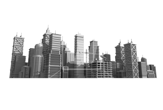 City Skyline Developing PNG.