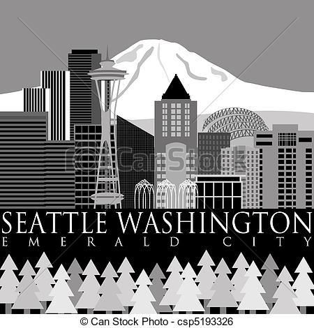Seattle Illustrations and Stock Art. 560 Seattle illustration and.