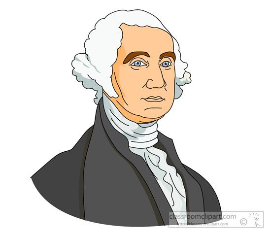 President Washington Clipart.