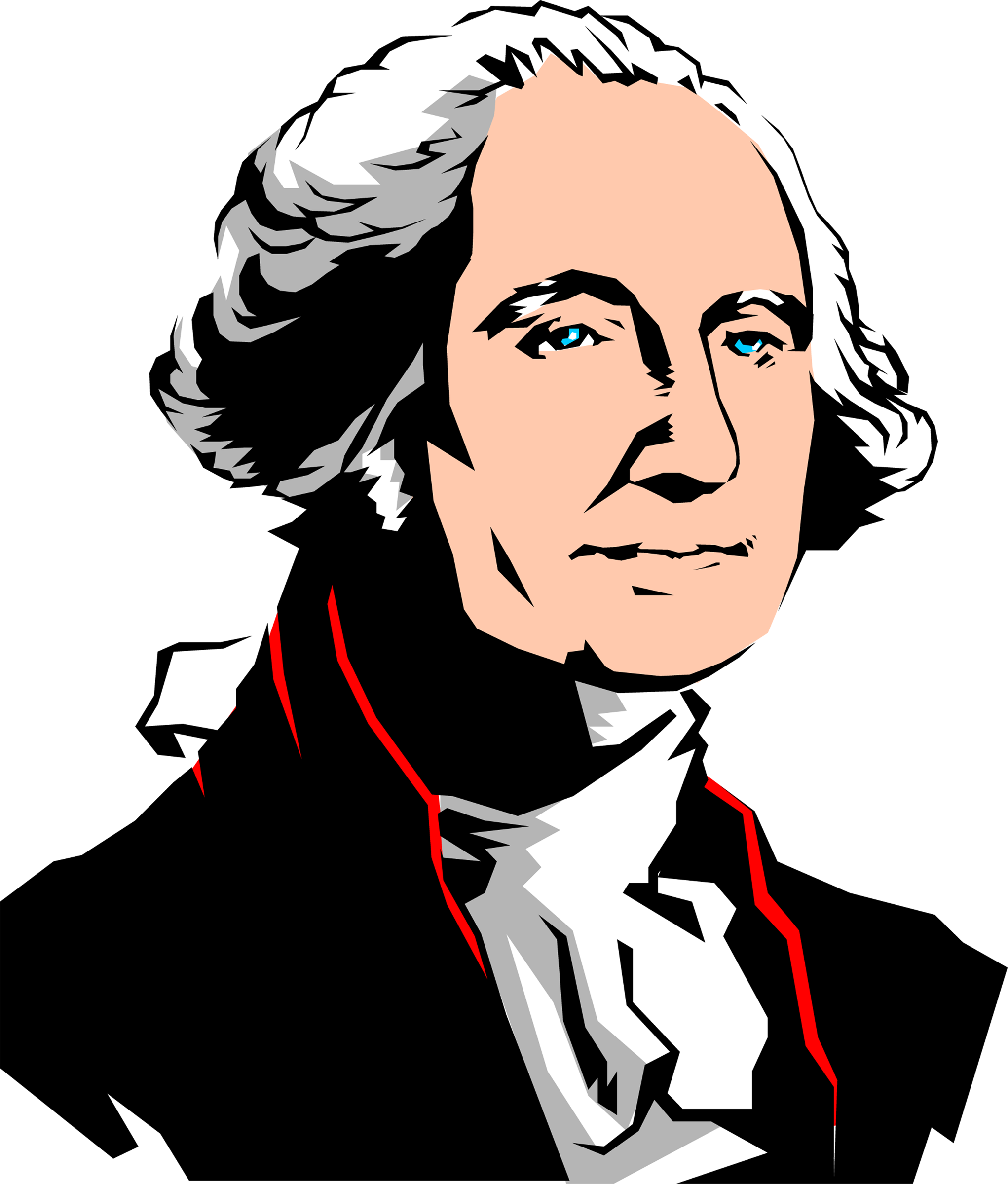 Free George Washington Clip Art.