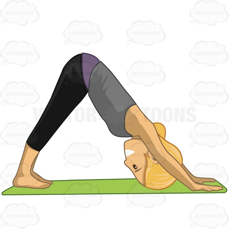 Yoga Dog Clipart.