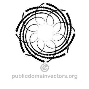 220 downward spiral clip art.