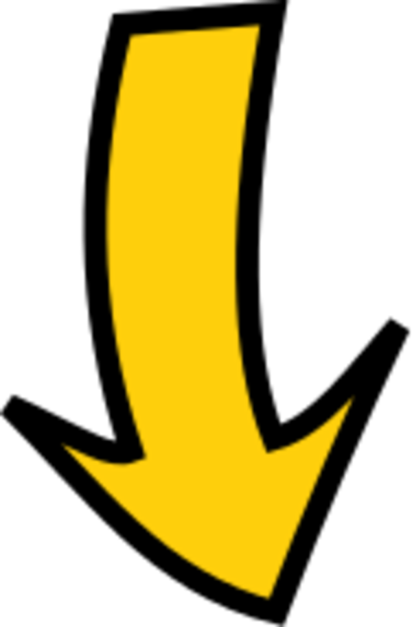 Picture Of An Arrow Pointing Down.