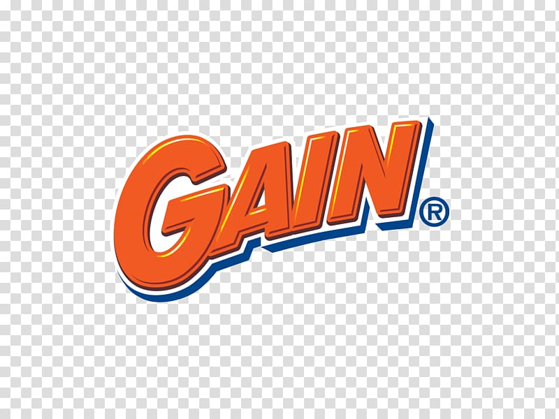 Gain Logo Tide Laundry Detergent, gain transparent.