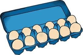 Dozen egg clipart 5 » Clipart Portal.