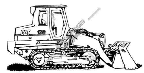 dozer Clipart and Vectorart: Construction.