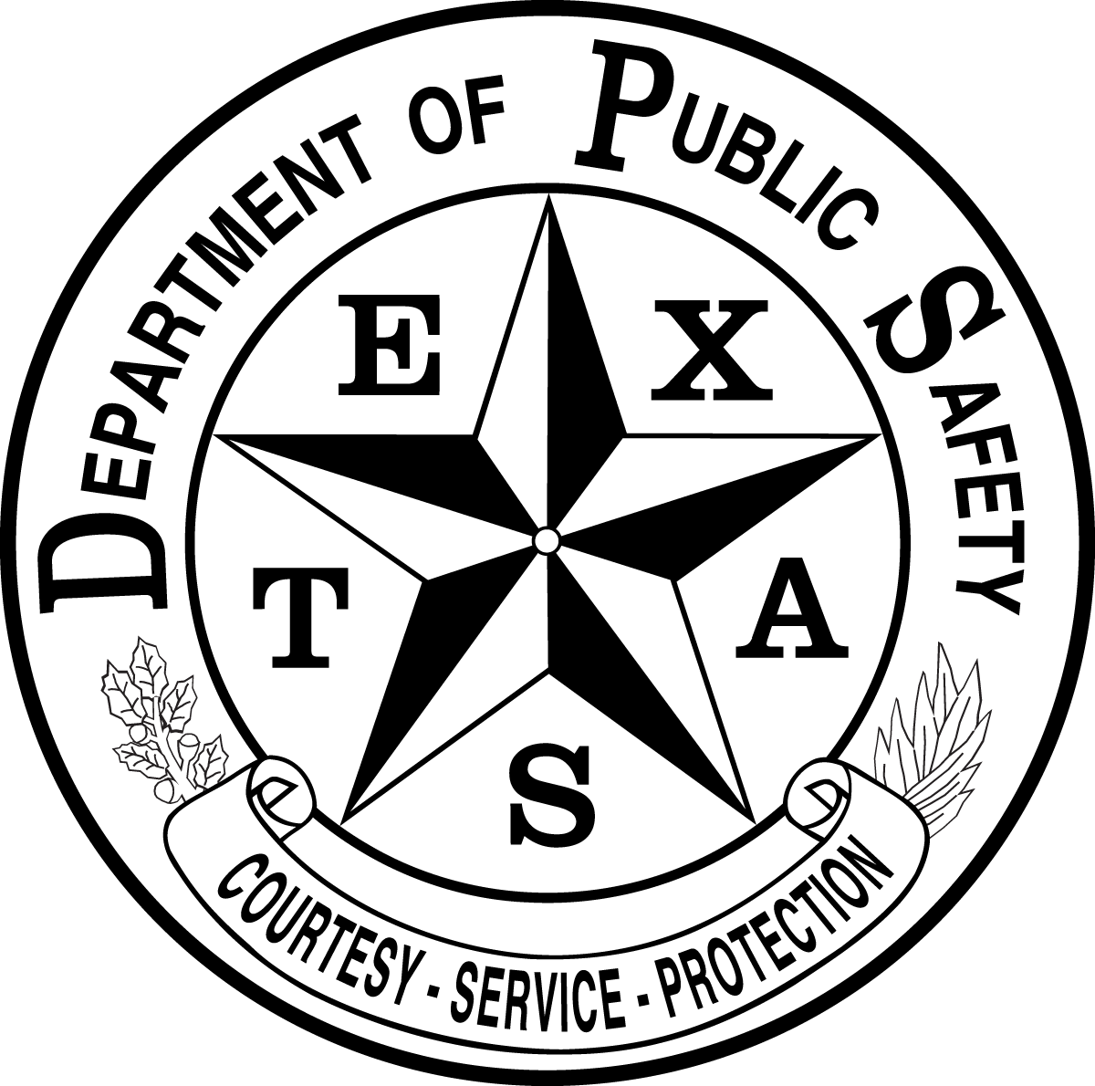 Texas State Logo Png Texas Department Of Public.