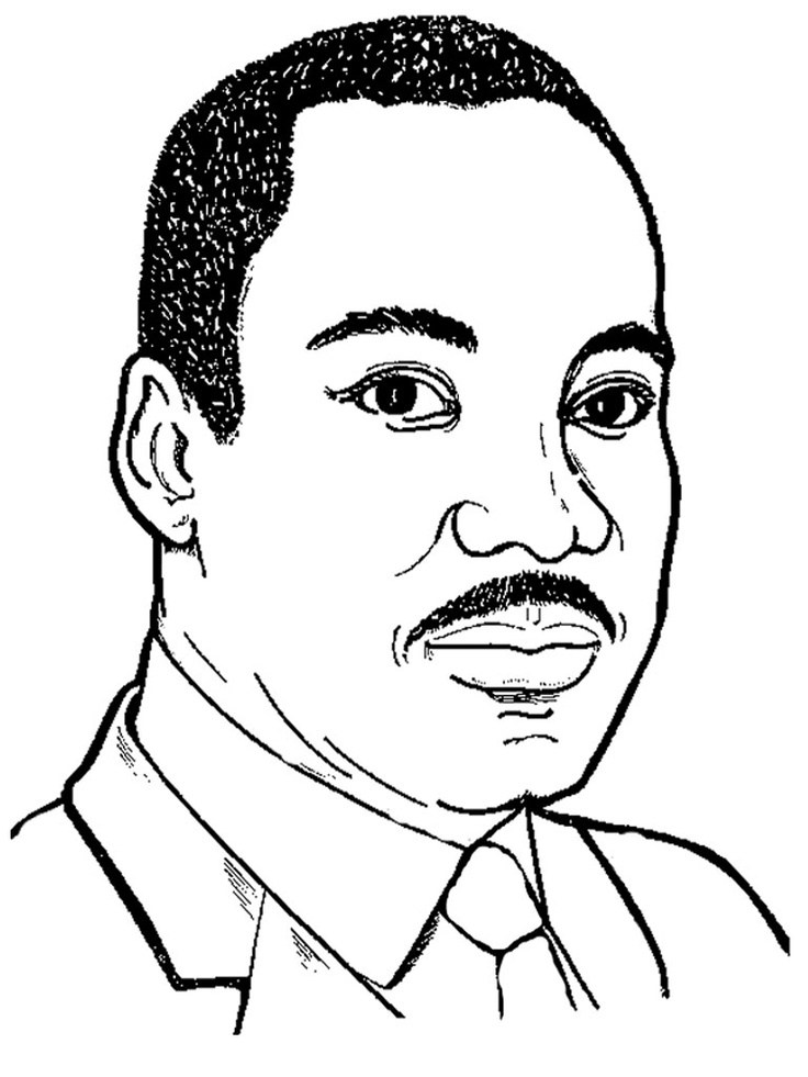 Martin luther king clipart black and white 4 » Clipart Portal.