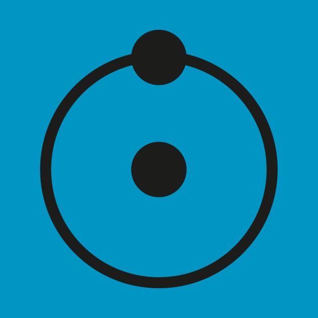 Watchmen Dr Manhattan atom icon by function9.