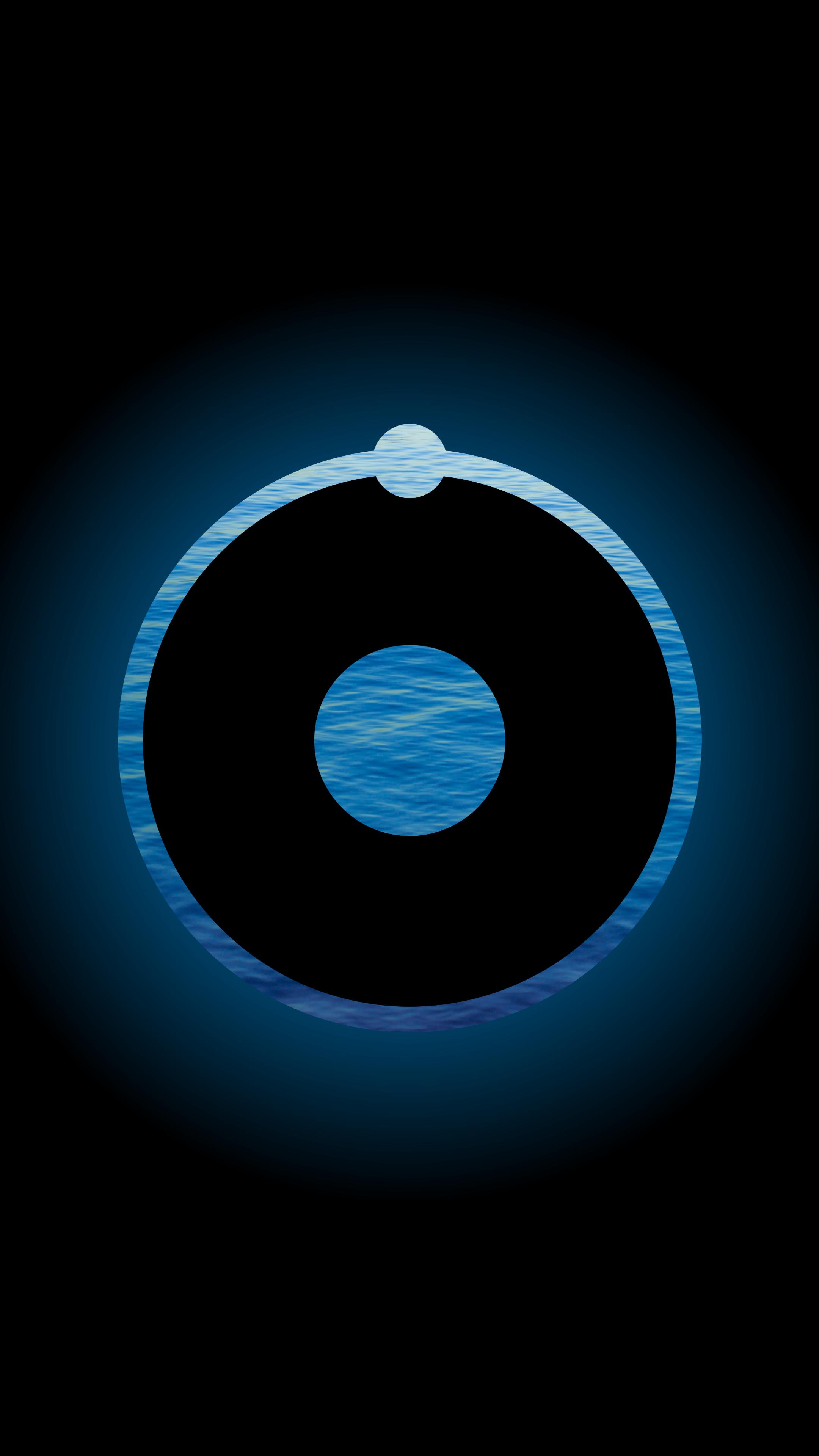 Dr. Manhattan logo.