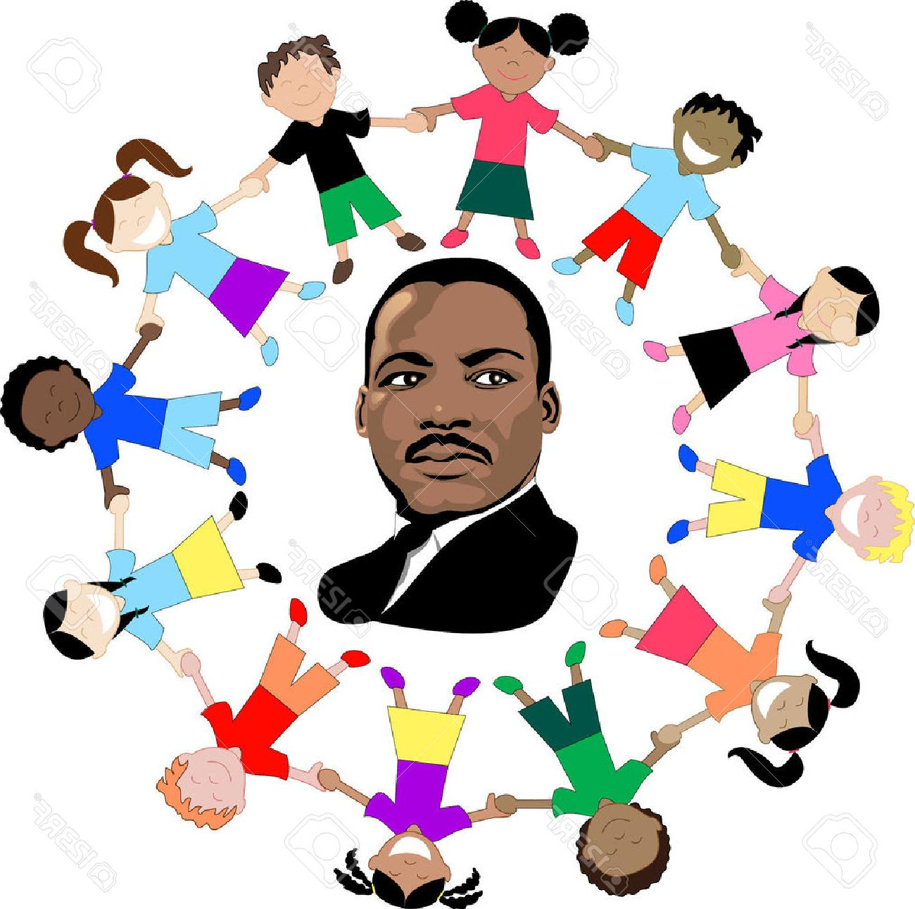 Dr Martin Luther King Jr Clipart.