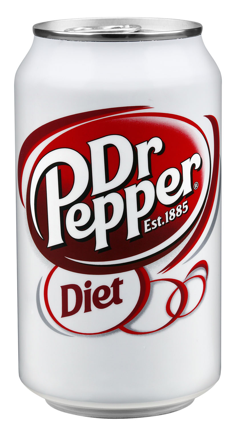 Diet Dr. Pepper.