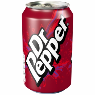 Dr Pepper Can PNG Images.