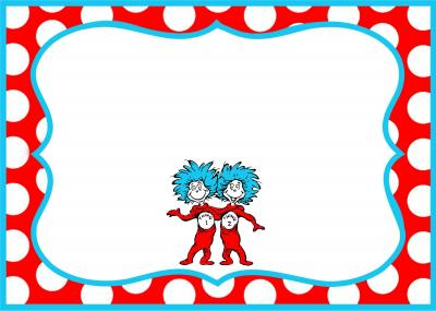 Download DR SEUSS BORDER Free PNG transparent image and clipart.