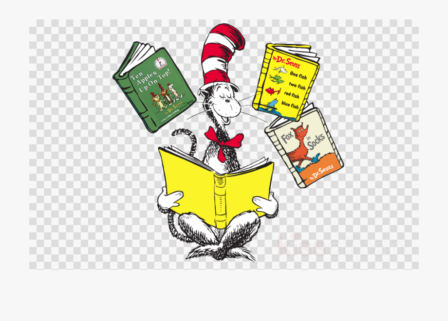 Cat In The Hat Clipart Book.