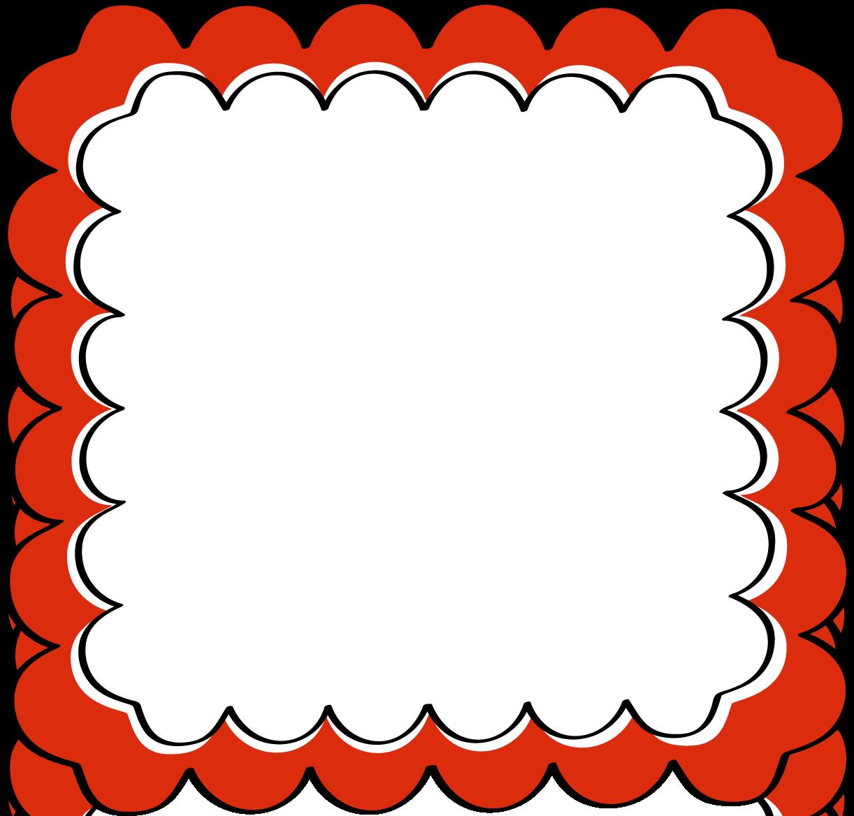 Scalloped Border Clipart.