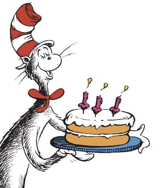 Denver Library celebrates Dr. Seuss birthday.