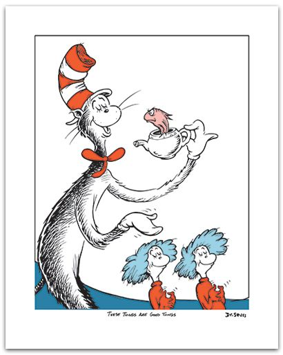 Dr. Seuss Cake Clip Art.