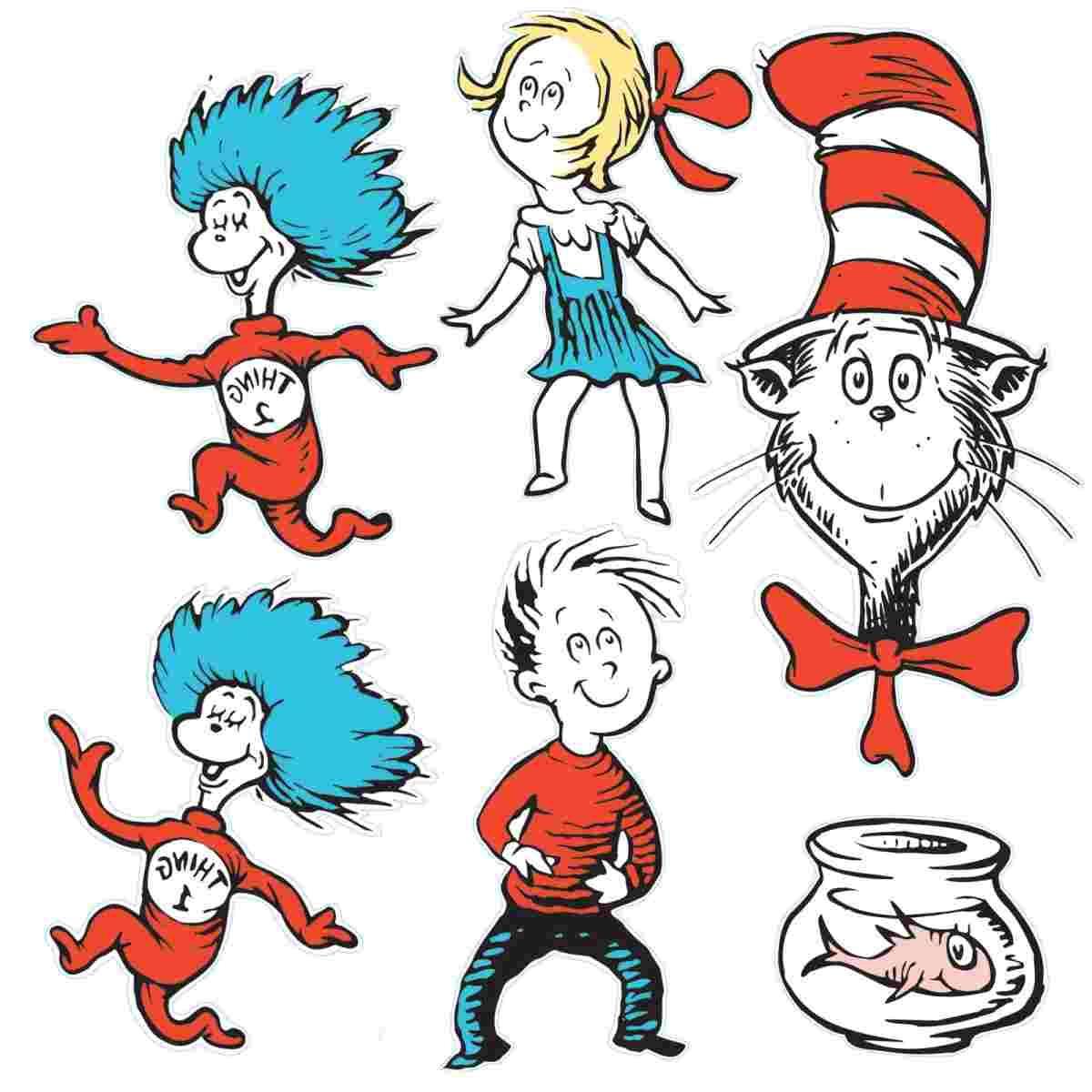 Best Dr. Seuss Characters Clip Art Photos » Free Vector Art, Images.