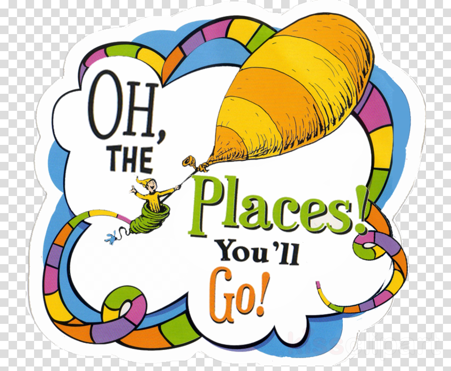 Collection of 14 free Oh the places you'll go png bill clipart.
