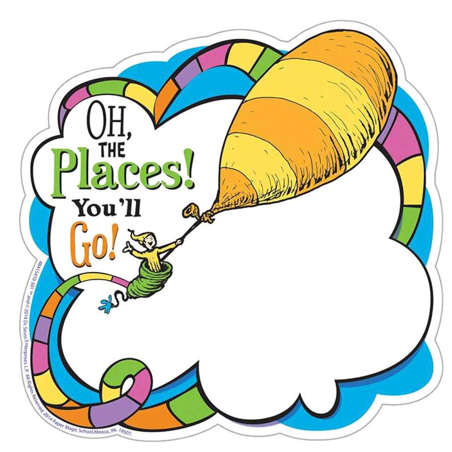 Oh The Places You'll Go Clipart.