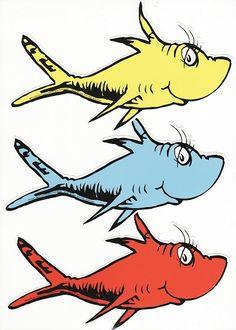 Dr Seuss Clipart Fish.