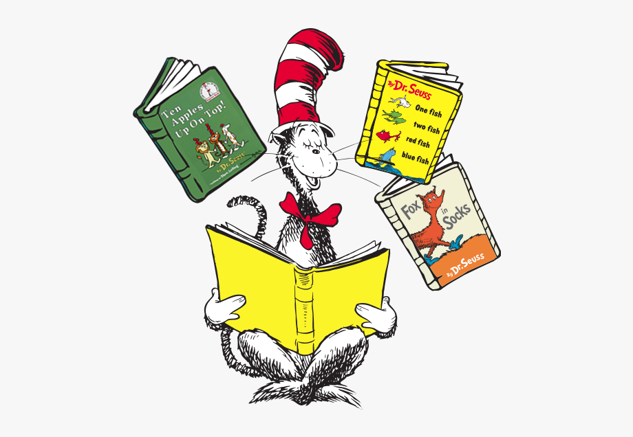 Dr Seuss Book Clip Art Freeuse Library Techflourish.