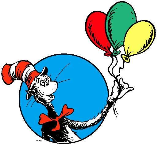 Free Printable Dr Seuss Clip Art.