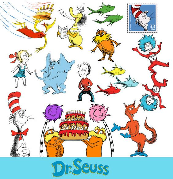 Cat in the hat dr seuss clipart the cat in hat clip art printable.