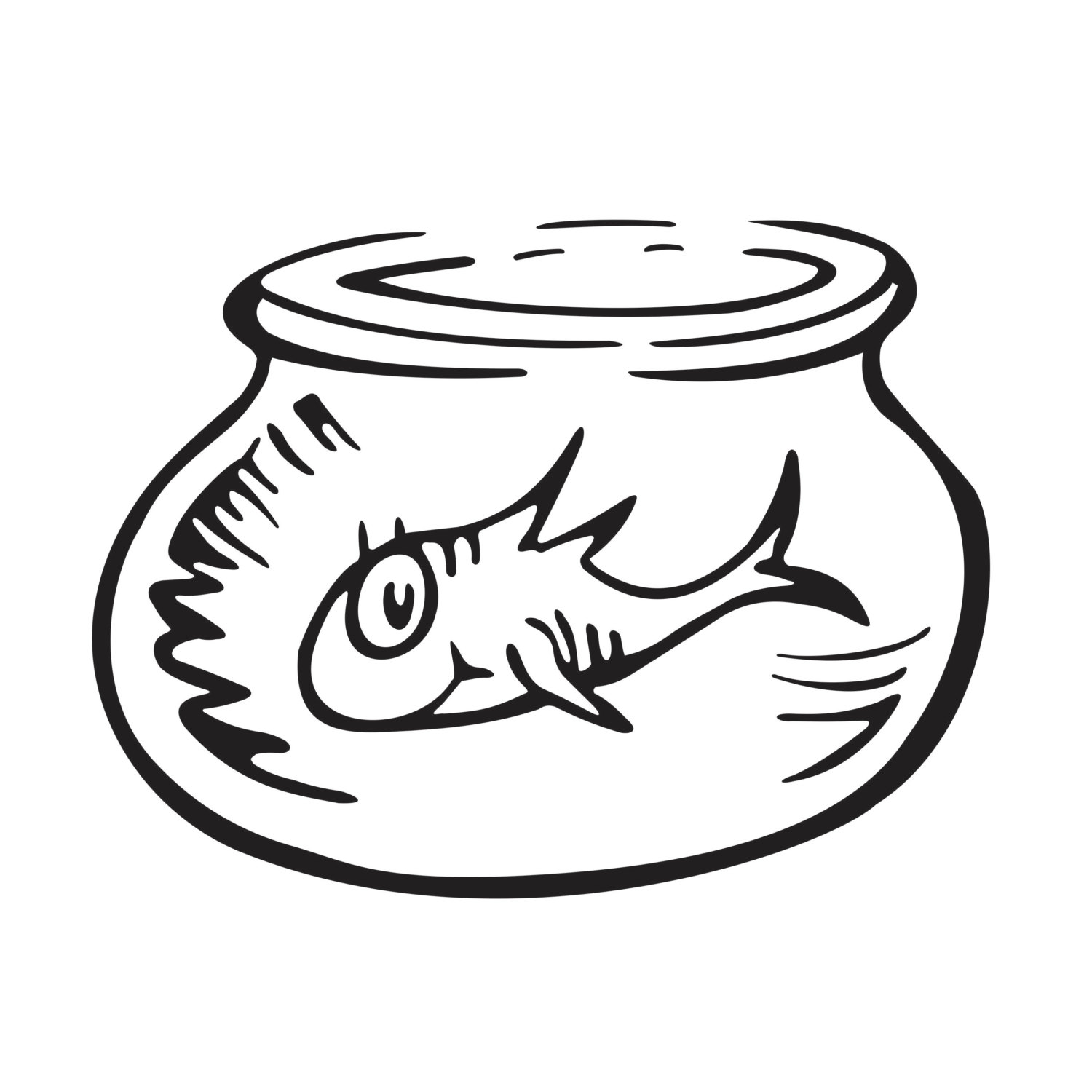 5704 Bowl free clipart.