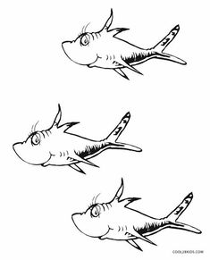 Dr. Seuss Fish Clipart (97+ images in Collection) Page 1.