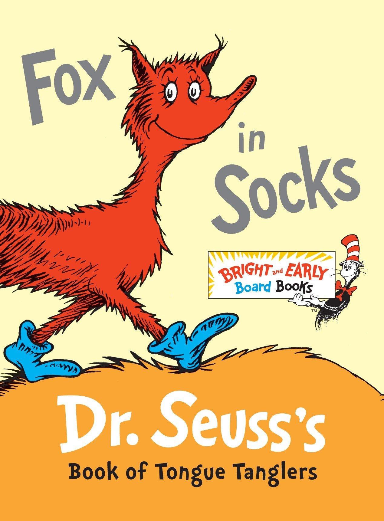Amazon.com: Fox in Socks: Dr. Seuss's Book of Tongue Tanglers.