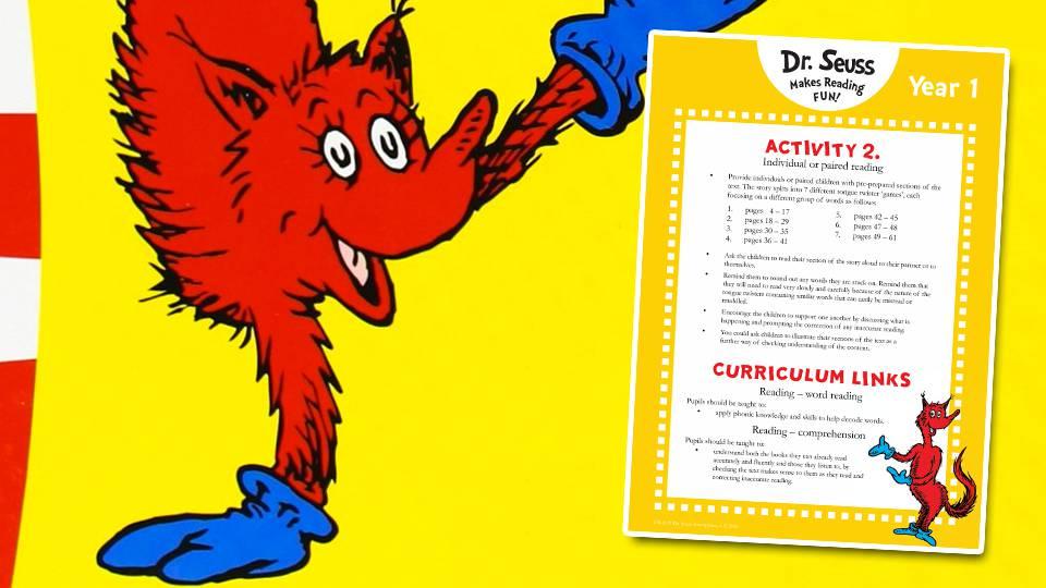 Dr Seuss: Fox in Socks.