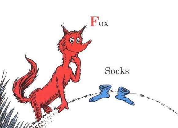Fox in Socks.