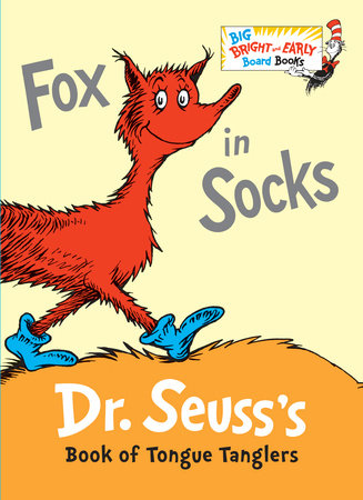 Fox in Socks by Dr. Seuss: 9780553513363.